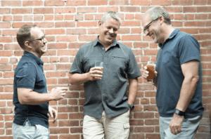 founders of The MoC - Jeff Kintzel (r), Chris Lussow (c) and Jason Coble (l)